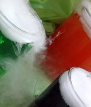 Dry Ice Halloween Drinks