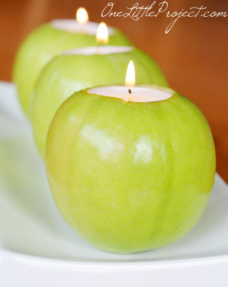 Fresh Apple Tea Lights