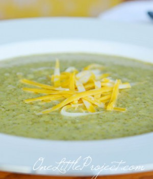 Cream of Broccoli Soup – A delicious and healthy recipe