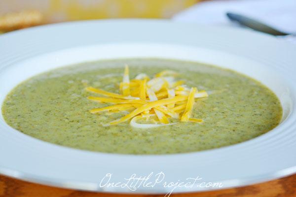 Cream of Broccoli Soup - A delicious and healthy recipe