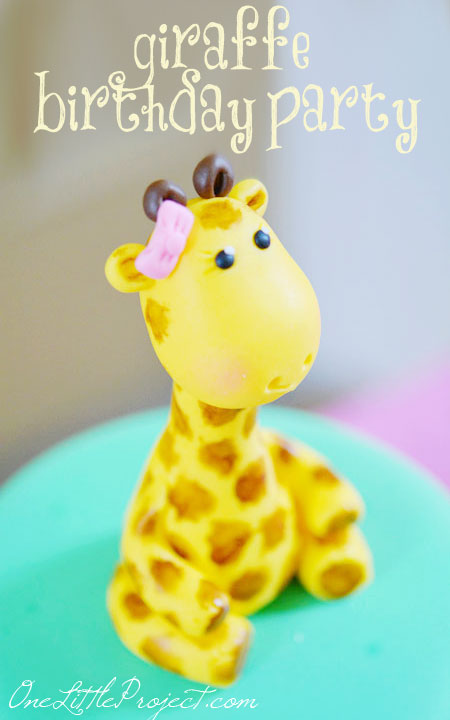 Birthday Giraffe Cake