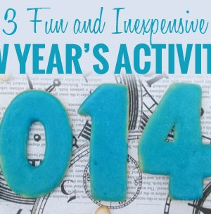3 Fun and Inexpensive New Years Activities