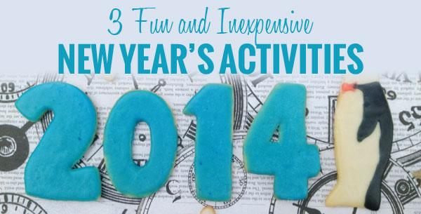 3 New Year's Activities