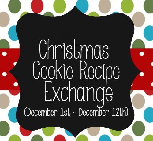 Christmas Cookie Recipe Exchange