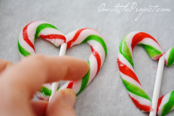 candy cane hearts if you dont get around to making these at christmas - Christmas Candy Canes