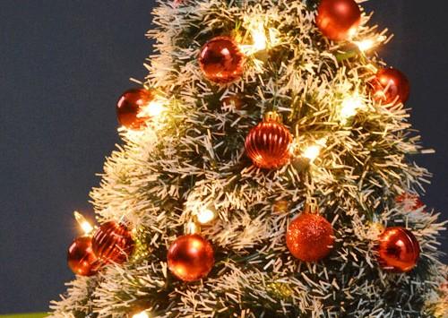 Metal Hanger Christmas Tree