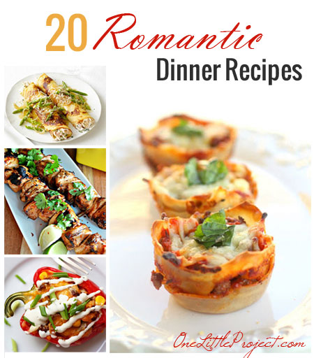20 romantic dinner recipes - Easy Valentine Dinner Recipes