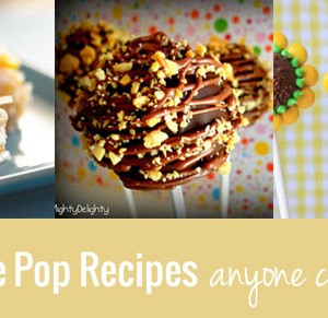 20 Cake Pop Recipes Anyone Can Make