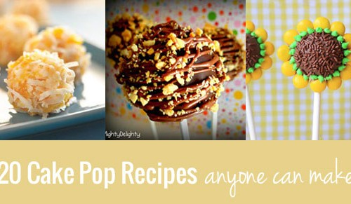 Cake Pop Recipes