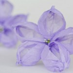 Tissue paper flowers tutorial – These look just like balloon flowers!