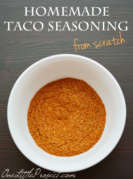 taco seasoning - This tastes so much better than the store bought mix ...