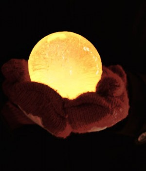 Ice Luminaries: How to make your own ice lanterns