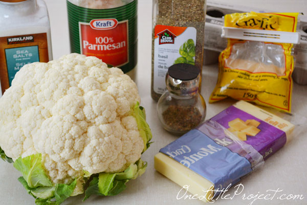 Cauliflower Pizza Crust, Healthy and Delicious!