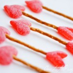 Valentine Treats – Easy Cupid's Arrow Pretzels