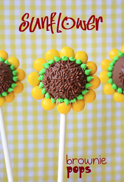 Sunflower-Brownie-Cake-Pops