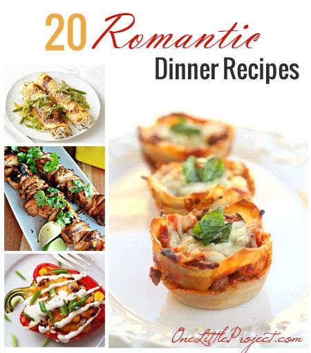20 Romantic Dinner Recipes