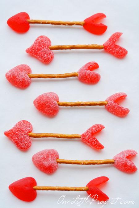 Easy pretzel Cupid's Arrows