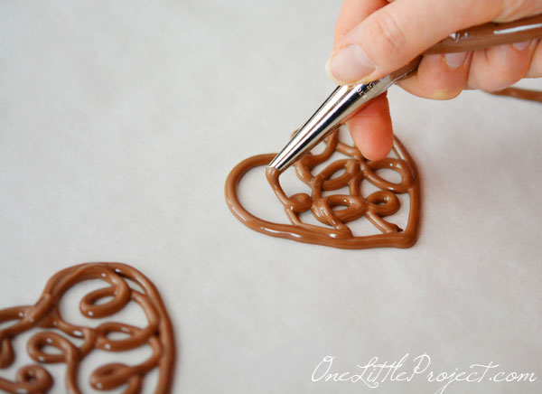 Chocolate Hearts Part 2: How to Make Chocolate Filigree Hearts