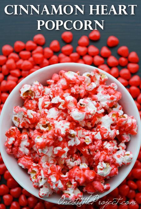 cinnamon heart popcorn
