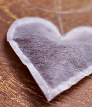 DIY Heart Shaped Tea Bag