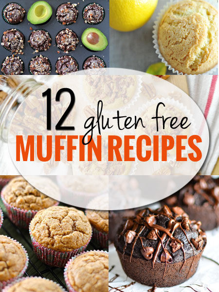 12 Recipes for Delicious Gluten Free Muffins. These are healthy, delicious and easy for any baker to make at home!
