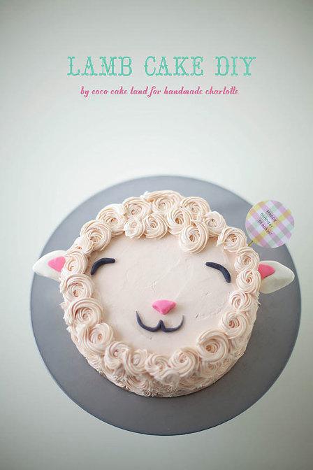 DIY Lamb Cake