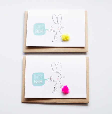 Cute Easter greeting cards