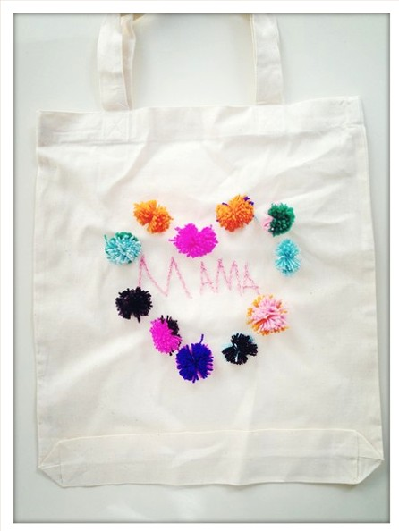 25 DIY Mother's Day Gift Ideas | DIY tote for mom