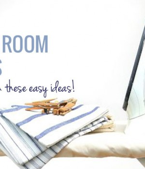 20 DIY Laundry Room Projects