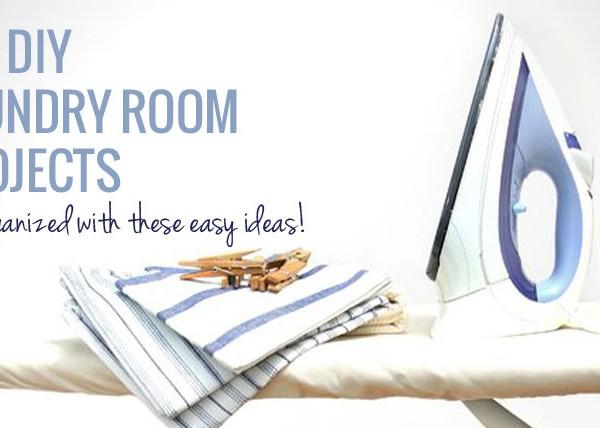 20 DIY Laundry Room Ideas