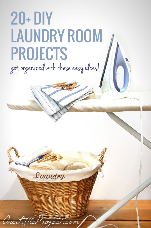 20 diy laundry room projects laundry room organization laundry may never be completely done but these easy diy laundry room projects will help solutioingenieria Image collections