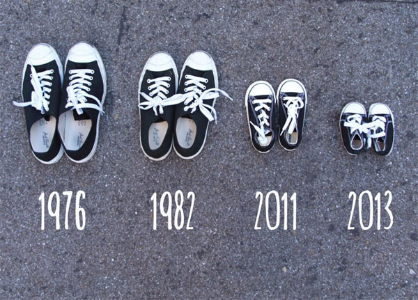 30+ Fun Photo Ideas to Announce a Pregnancy - Another Shoe In The Family