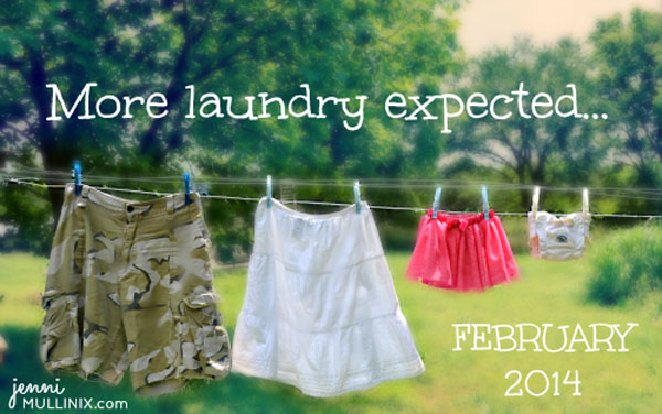 30+ Fun Photo Ideas to Announce a Pregnancy - More Laundry Expected Announcement