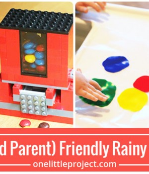 25 Kid (and Parent) Friendly Rainy Day Crafts