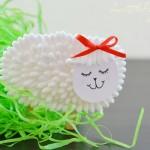 Q-Tip Lamb Craft