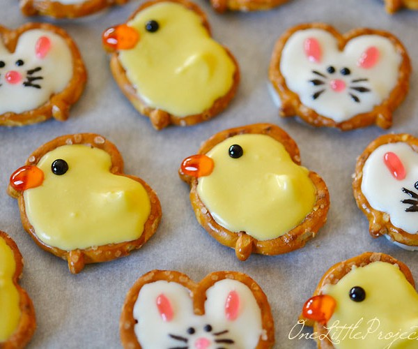 Pretzel Bunnies and Ducks