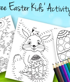 Free Easter Kids' Activity Pages