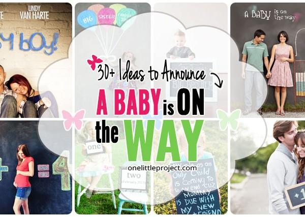 30+ Fun Photo Ideas to Announce a Pregnancy
