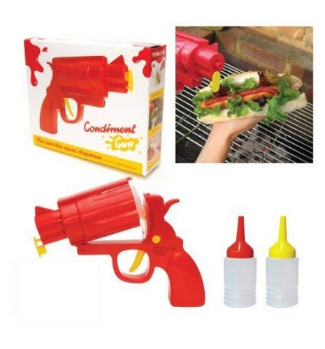 Gun-Shaped Condiment Dispenser