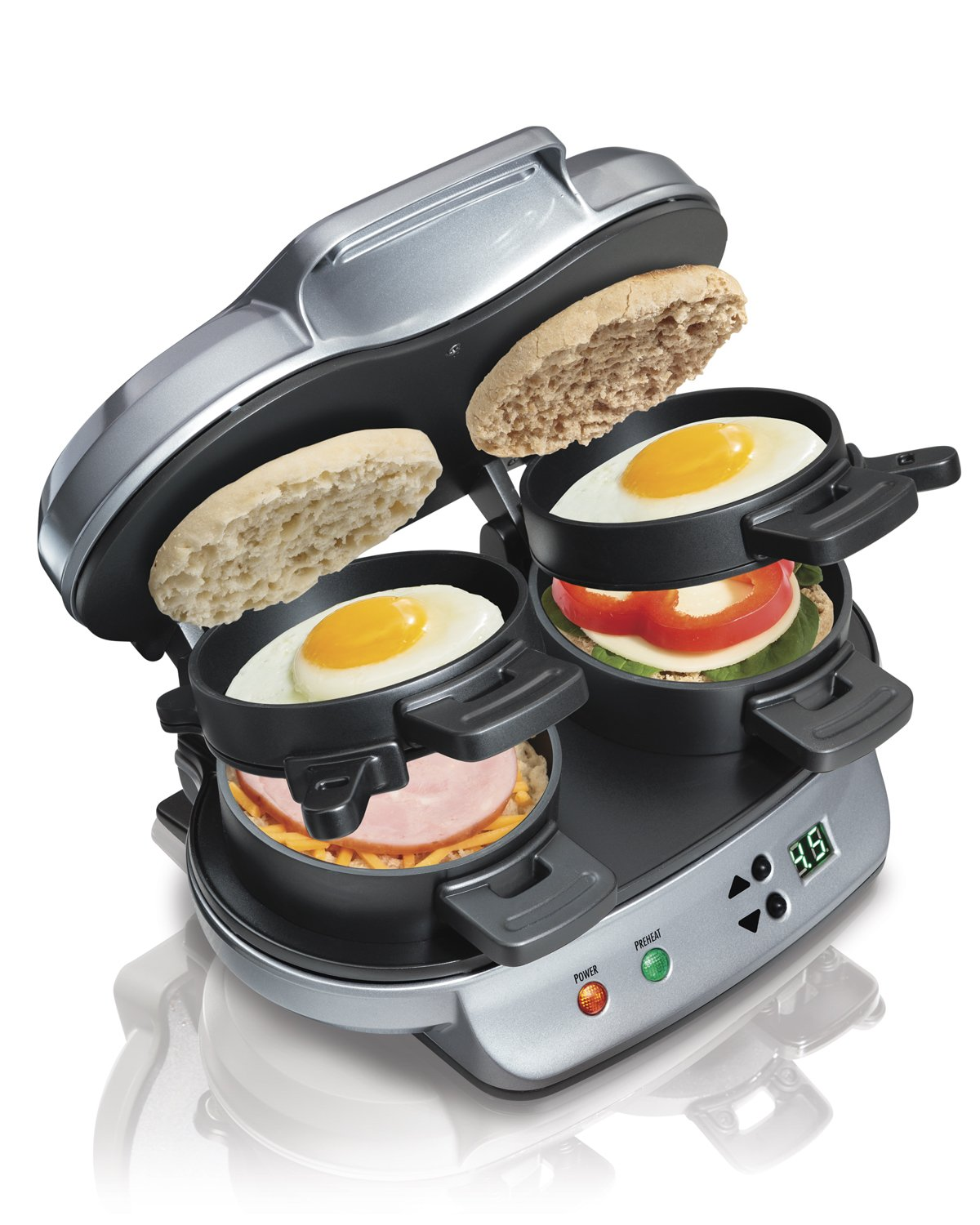 Deluxe Breakfast Sandwich Maker