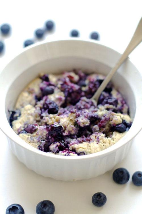 50+ Best Recipes for Fresh Blueberries - Blueberry Muffin Breakfast Bake