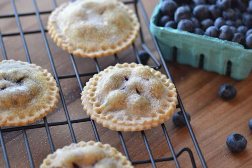 50+ Best Recipes for Fresh Blueberries - Blueberry Pie Cookies