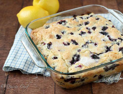 50+ Best Recipes for Fresh Blueberries - Buttermilk Blueberry Breakfast Cake
