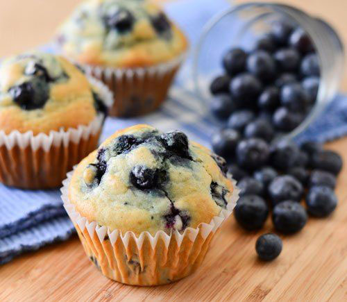 50+ Best Recipes for Fresh Blueberries - Classic Blueberry Muffins