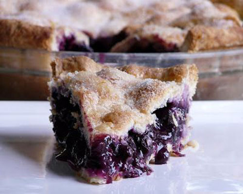 50+ Best Recipes for Fresh Blueberries - Classic Blueberry Pie