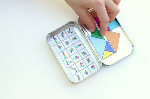40+ DIY Travel Activities - DIY Magnetic Travel Puzzles