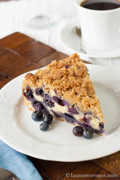50+ Best Recipes for Fresh Blueberries - Fresh Blueberry Buckle