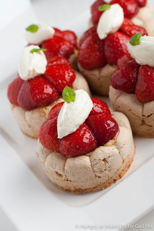 50+ Best Recipes for Fresh Strawberries - Fresh Strawberry Dacquoise