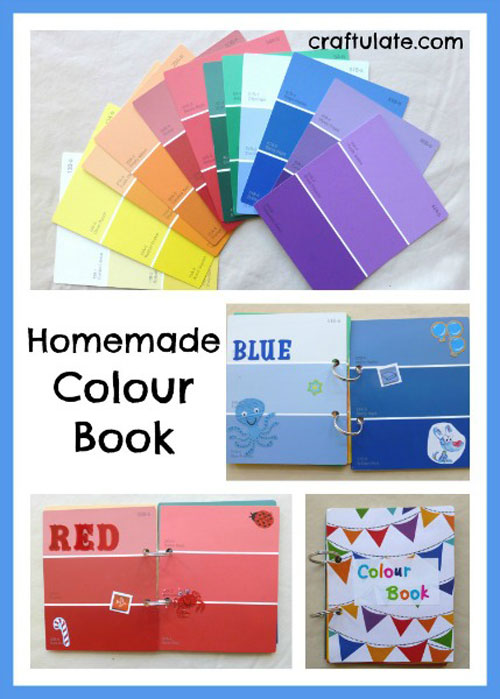 40+ DIY Travel Activities - Homemade Colour Book