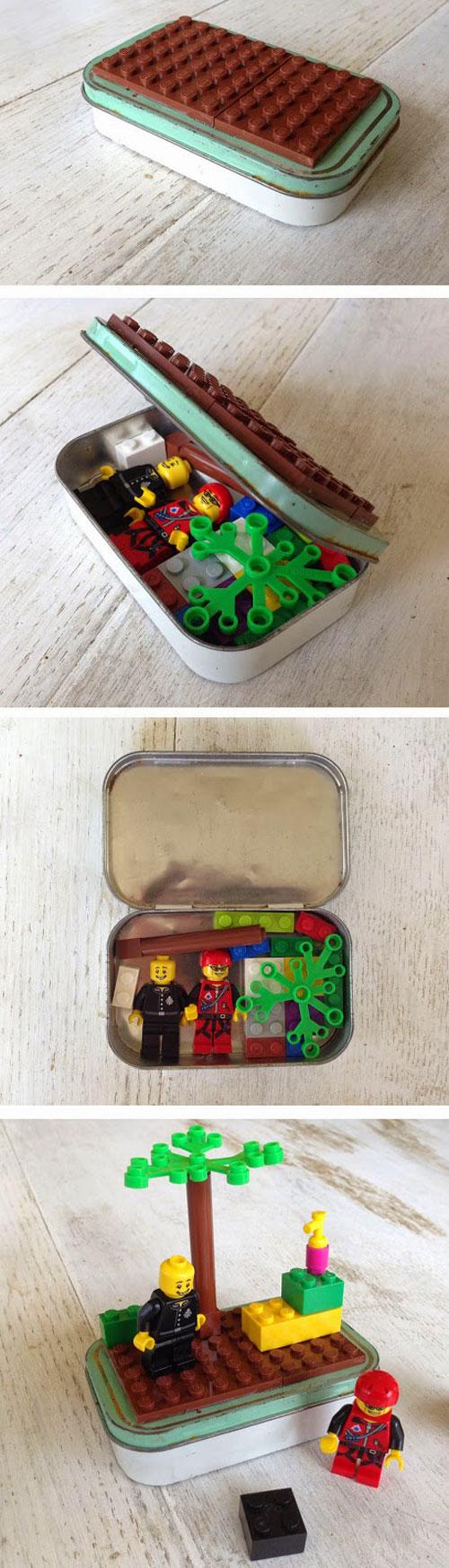 40+ DIY Travel Activities - Lego Set